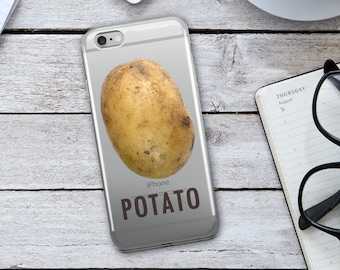 Potato Iphone Case - Potatoe Iphone Case - Potato Phone Case - Potato - Food Iphone Case - Iphone 8 Case - iPhone 8 Plus Case - iPhone case