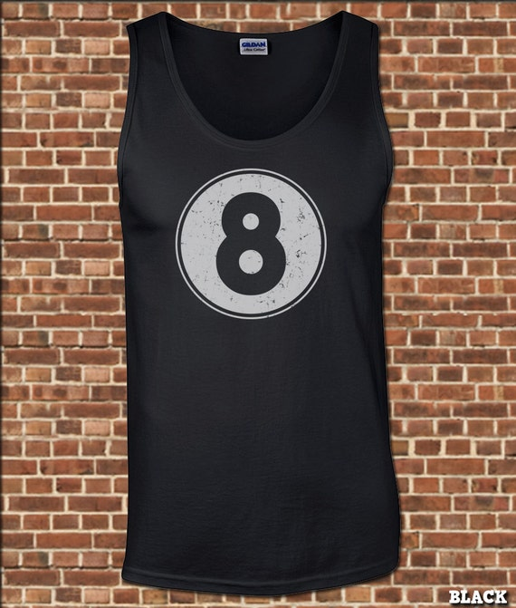 EIGHT BALL Mens Tank Top all sizes available 8 ball pool  12f0e0f818