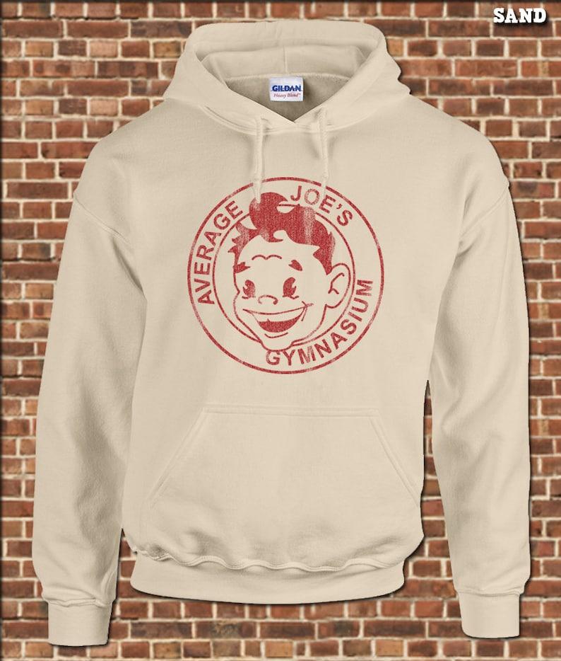 790566245b607 AVERAGE JOE S mens Hooded Sweatshirt all sizes funny