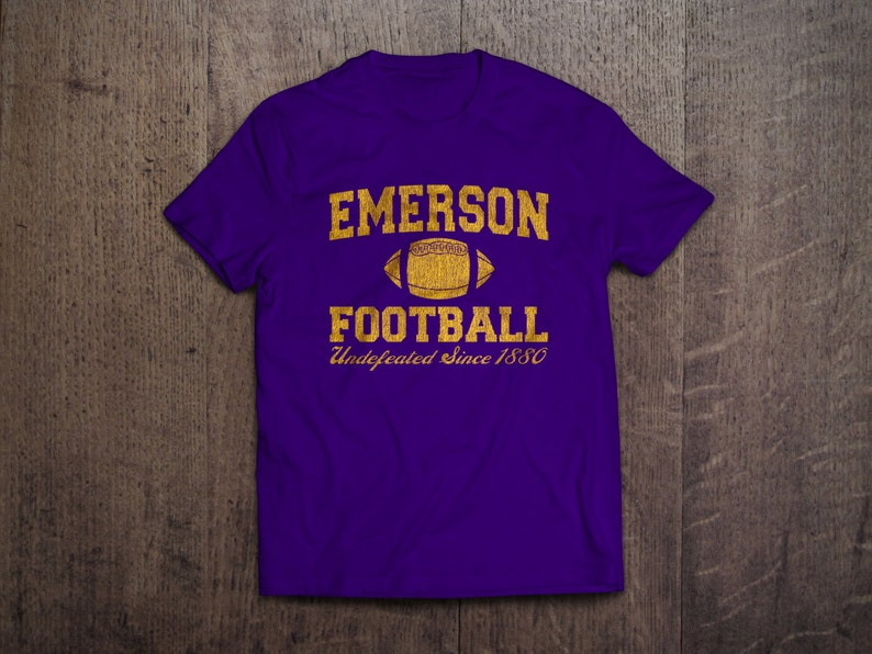 b257486c4 EMERSON FOOTBALL Mens T-Shirt all sizes available