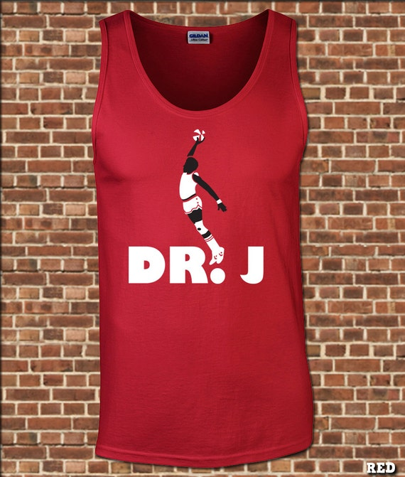 DR. J mens Tank Top all sizes available the doctor slam dunk  98e24bf32