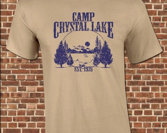 cfeaf1cdd CAMP CRYSTAL LAKE Mens T-Shirt - all sizes available - jason voorhees friday  summer