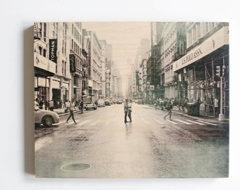 8 x 10 Wood Photo Block, Photo Block, Photo Transfer, Picture on Wood, Picture Transfer, Photo on Wood, Old Fashioned Photo, Picture Frame
