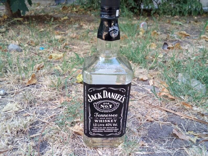 Fonkelnieuw Lege flessen van Jack Daniels 1 nestje lege | Etsy SR-05