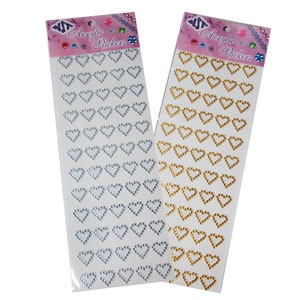 28  pcs Free Shipping! Acrylic BLING Stickers .50 /'Nuestra Boda/' - Wedding Favor stickers