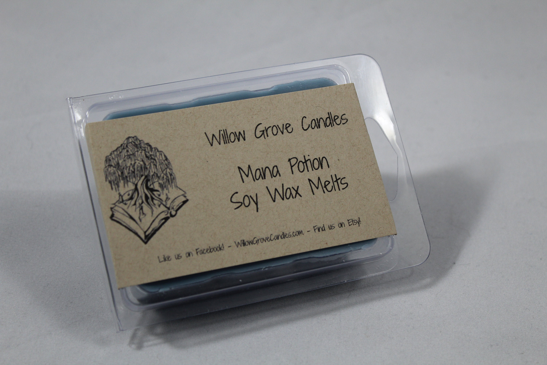 Jaguar Willow Grove >> Mana Potion Themed Soy Wax Melt