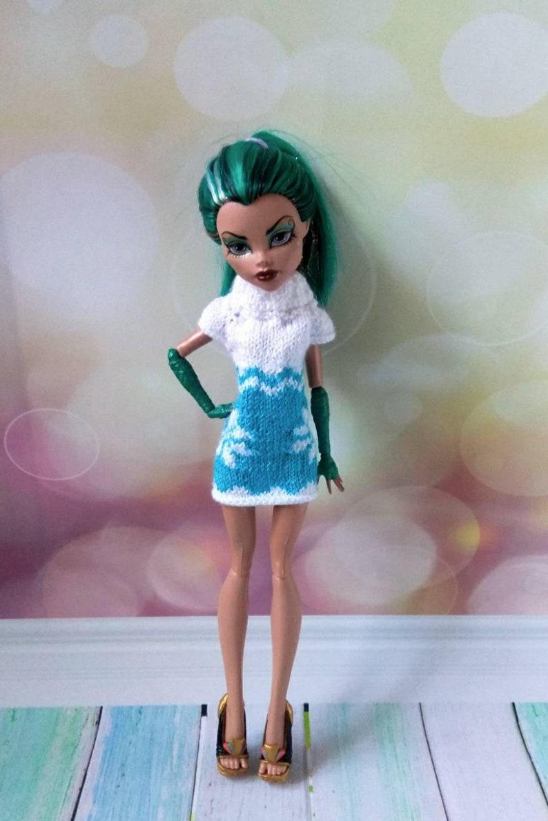 862fe5e1a4b9 Vestiti della bambola alta mostro. Natale vestiti della | Etsy