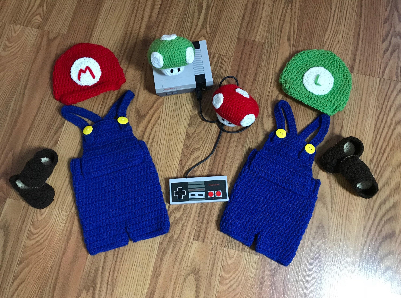 Super Mario And Luigi Set Mario And Luigi Super Mario Bros Etsy