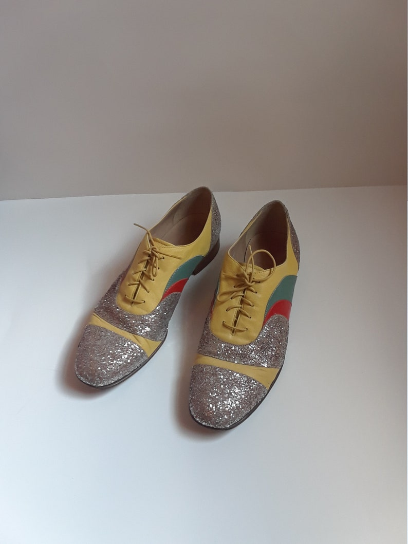 10a11a78635 J CREW PSYCHEDELIC OXFORD Creatures Of The Wind Shoes Size 10