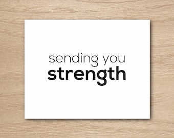Instant Download - Sending You Strength