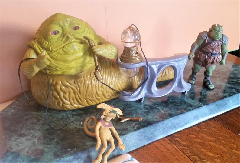 Star Wars JABBA the Hut Playset with Accessories Jabba, Salacious Crumb,  Gamorrean Guard FREE SHIPS