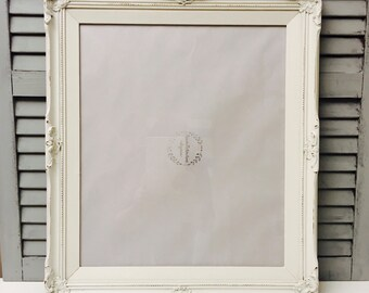 a47f86ca3205 16x20 Chunky Frame    Large Picture Frames  Over-sized Frames  Distressed  Rustic Frames  Hand-Painted Frame