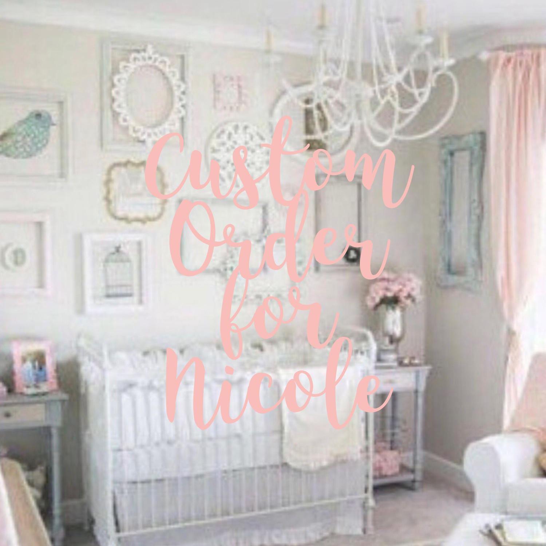 Large Ornate Frames Set of 10; Baby Girl Nursery; Gallery Wall ...