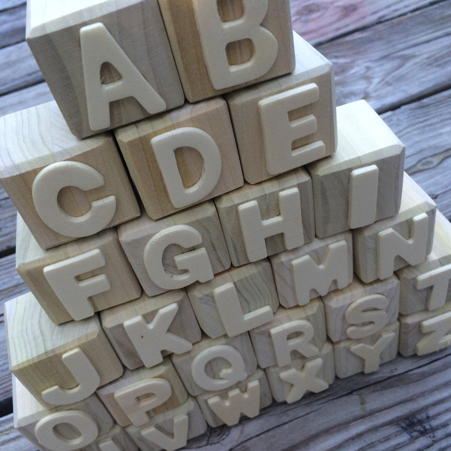 wood block letters alphabet blocks abc blocks wooden letters diy wooden etsy 25665 | il fullxfull.792217043 5k9q