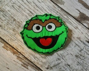 Oscar The Grouch Sesame Street Vector Layered Svg Cut File