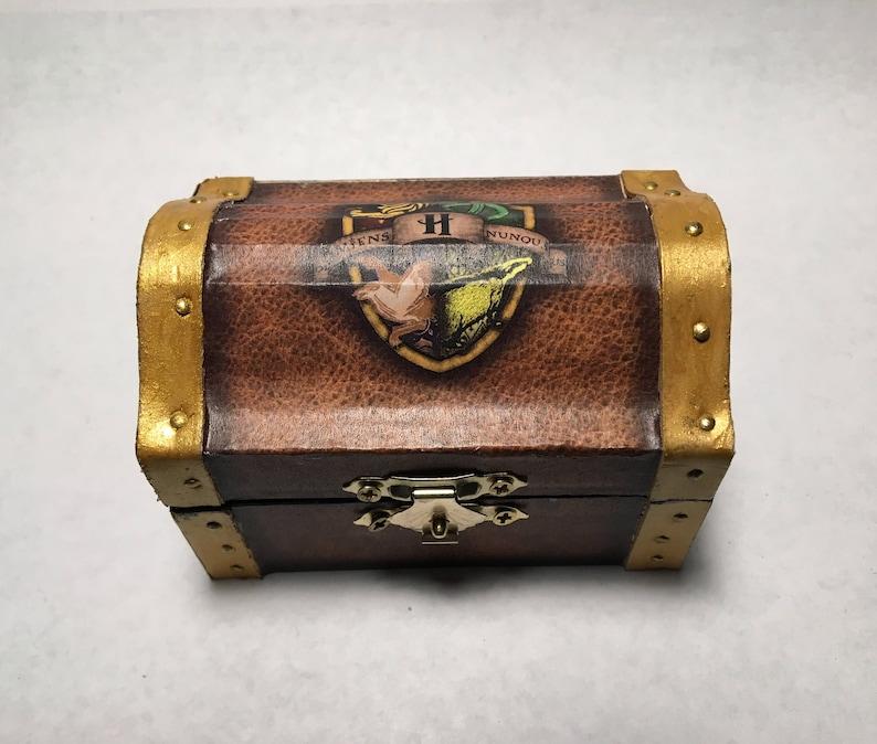 Harry Potter Hogwarts Inspired Proposal Engagement Ring Box Etsy