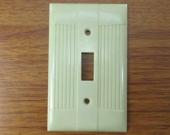 Vintage Switch Plate Etsy