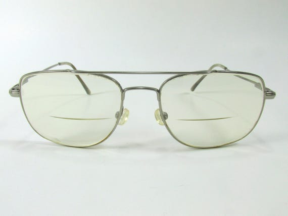Vintage Safilo Elasta Aviator Eyeglass Frames Silver Tone | Etsy