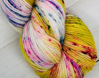Pop Rocks - Hand dyed on Balanced Sock