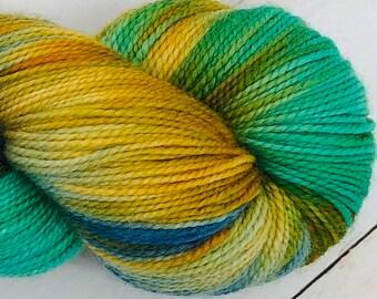 Fiji - Hand dyed on Balanced Sock