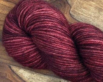 Mahogany - Hand dyed on Northwoods DK
