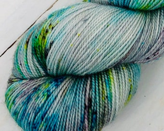 Happy Hour - Hand dyed on Balanced Sock
