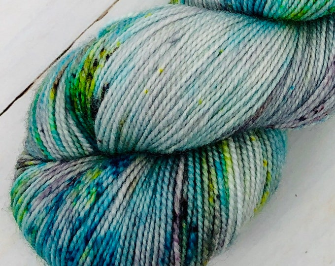 Featured listing image: Happy Hour - Hand dyed on Balanced Sock