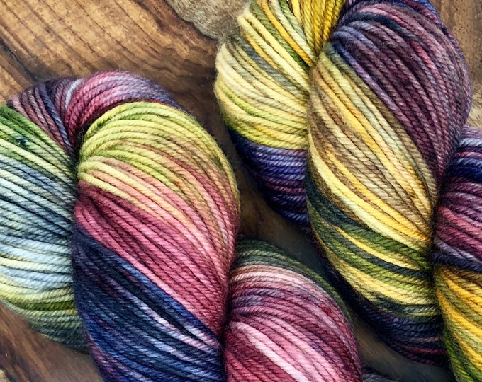 Featured listing image: Fall on the Farm - Hand dyed on Northwoods DK