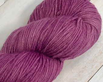 Velvet Magnolia - Hand dyed on Blissful MCN Sock