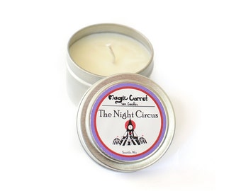 The Night Circus - Soy Candle - 4 oz