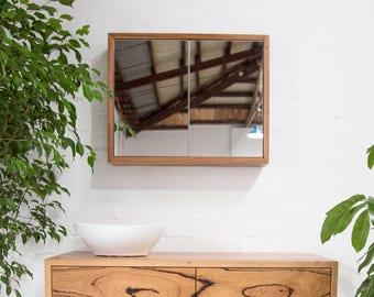 Roseneath Recycled Timber Bathroom Shaving Cabinet