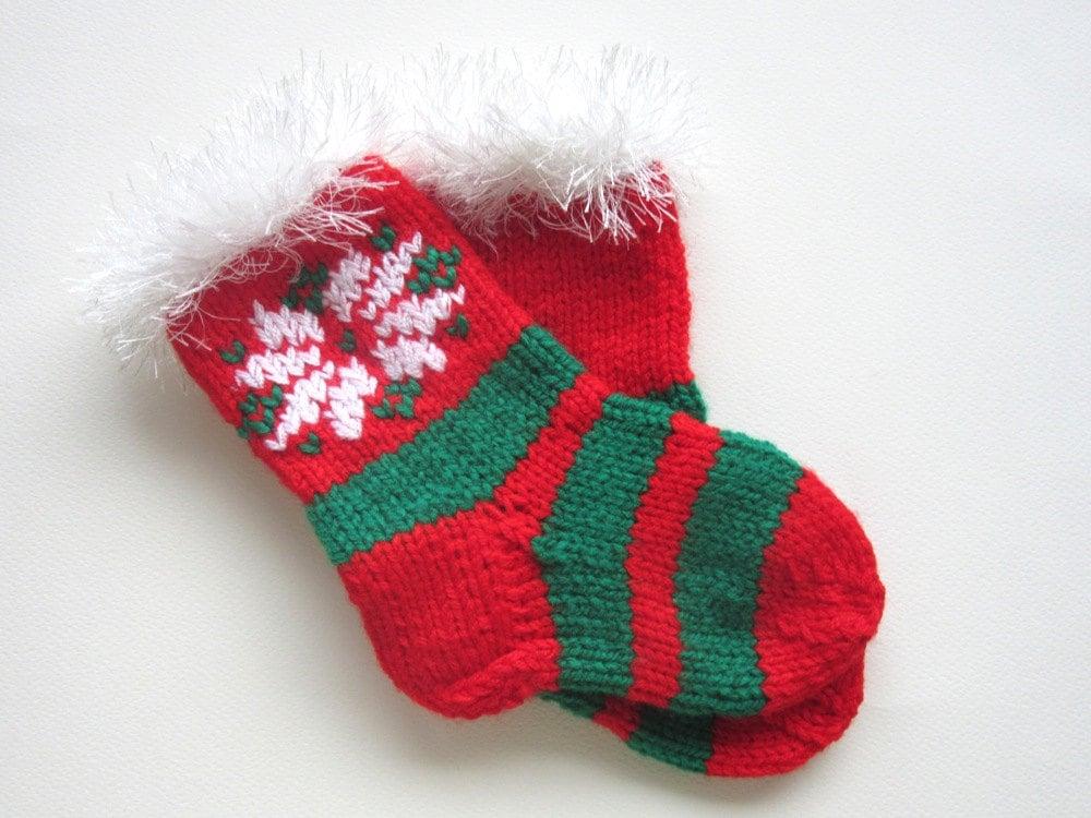Boys Christmas Socks.Kids Christmas Socks Red Green Knitted Socks For Children Snowflake Toddler Socks Boys Socks Girls Socks Toddler Socks Ready To Ship