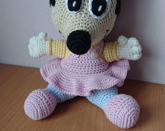 Amigurumi pattern baby Minnie