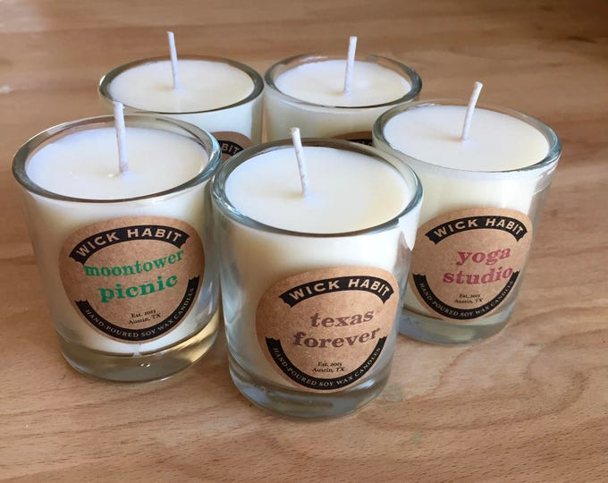 PICK ANY FIVE 2oz Soy Votives