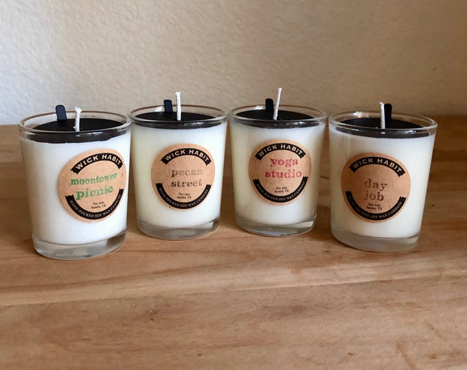 PICK ANY FOUR 3oz Soy Votives