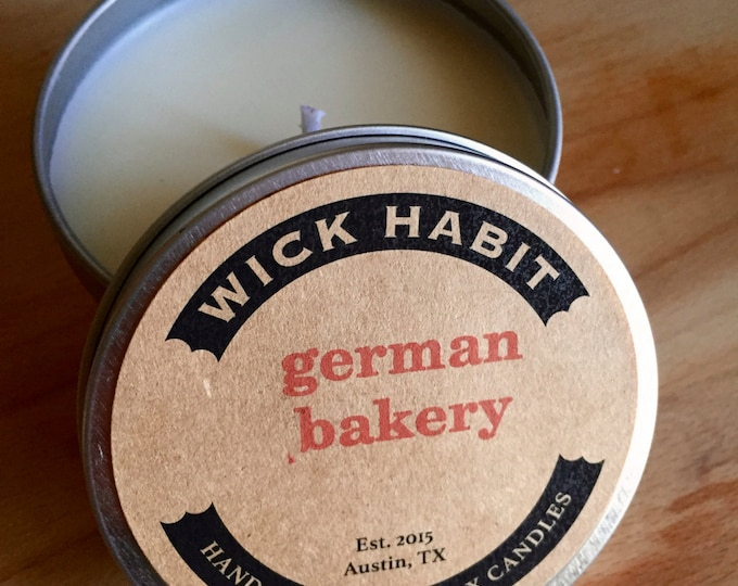 German Bakery Soy Candle // Sugar and Spice