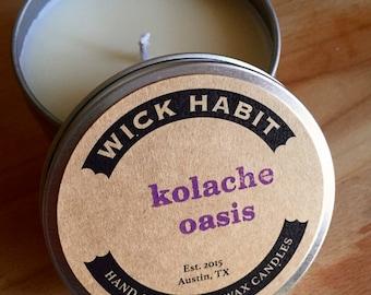 Kolache Oasis Soy Candle // Sweet Buttery Bread