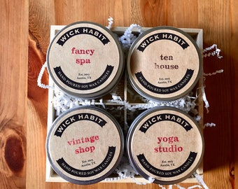 Pretty Nice Day Soy Candle Gift Set (8 oz)