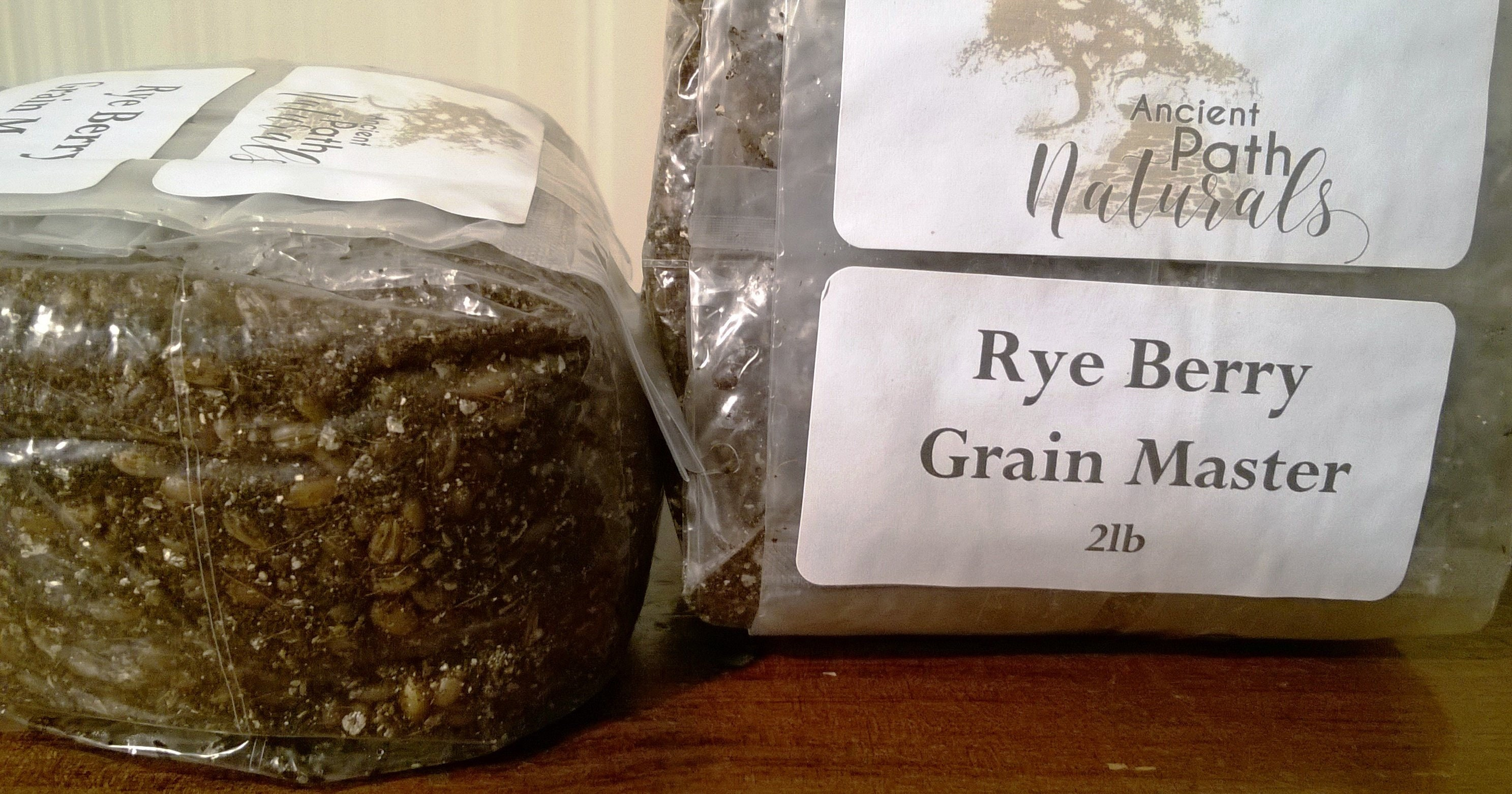 2lb x8 RYE Grain Masters Grow Bags + 1 Rye & 1 Casing Free * Grain Spawn *  Sterilized Ready to Inoculate, Just Add Spores! FREE SHIPPING!