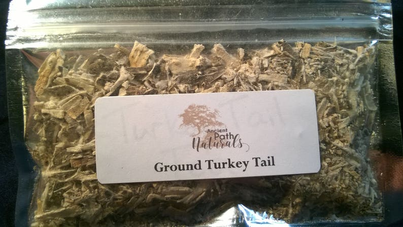 Ground Turkey Tail 2 pack * Medicinal Mushroom * Wild Harvested,  Sustainable, Natural, Healthy, Organic, Potent, Pure! Free Shipping!