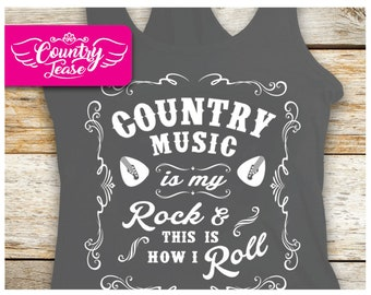 Country festival, Country music tank, Country concert, Country shirt, Country girl, Country Concert Tees, Southern, is my Rock