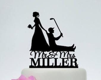 Wedding cake topper funny | Etsy
