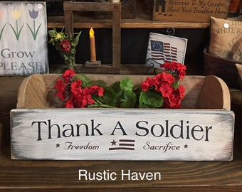 """Thank A Soldier 