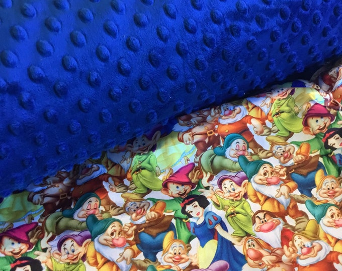 Snow White Blanket, 30x40... can be made in different sizes, personalization is available ...