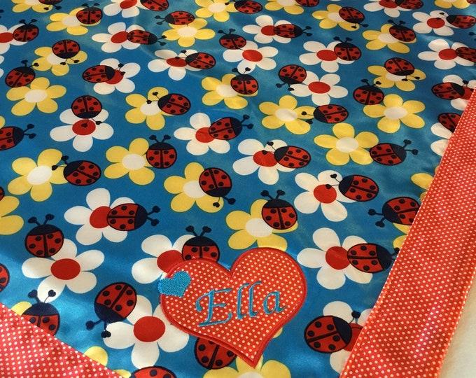 Baby Blanket, Silky Blanket, Custom baby blanket, Newborn baby blanket, Watermelon silky baby blanket 30x40