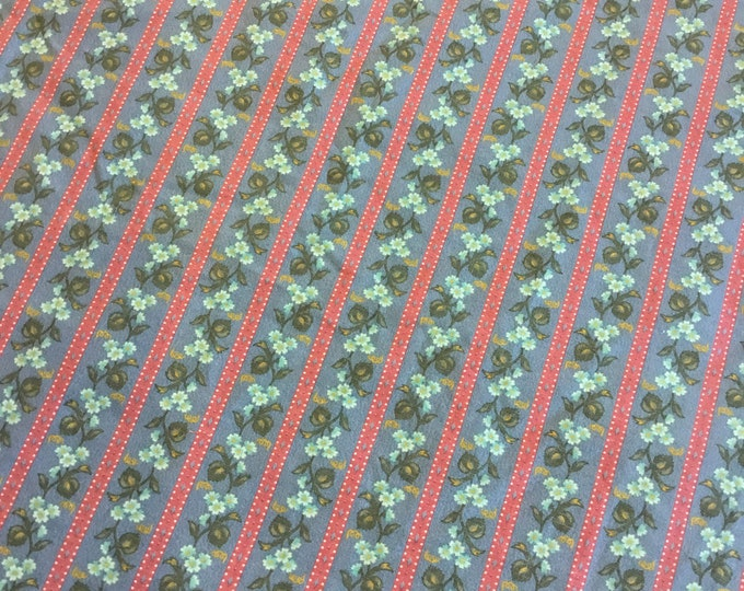 Beautiful fabric by the yard, Cotton fabric 36x45, fun for crafting and sewing projects, same day shipping