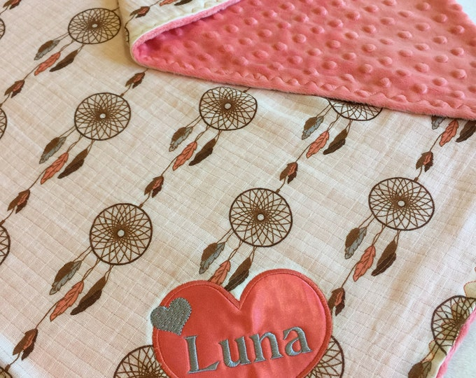 Custom order 2) personalozed crib blankets