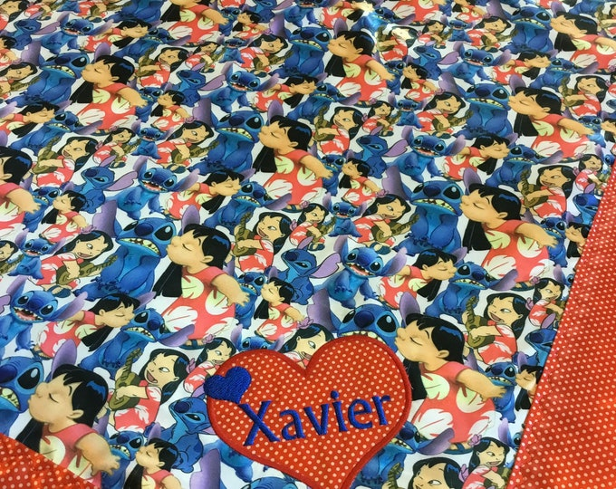 Lilo and Stitch  Silky Baby blanket 30x40