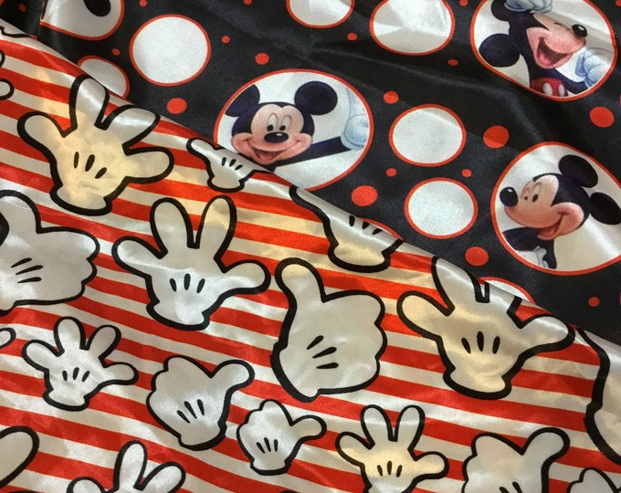 Custom order Mickey Mouse silky blanket 40x50