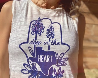 Deep in the Heart of Texas Yoga Tank